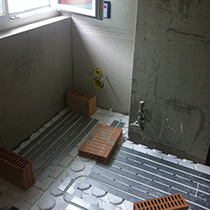 Gsell Warmetechnik Sanierung Bodenheizung